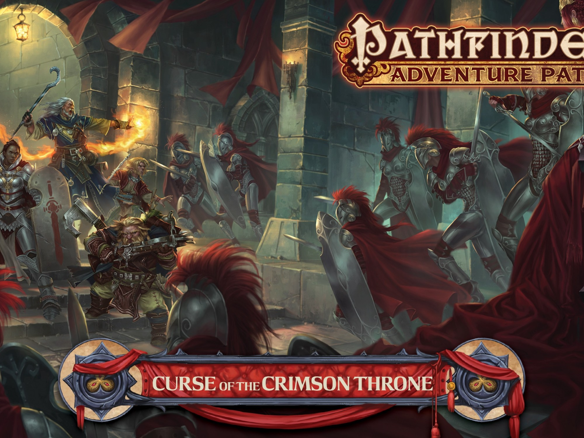 Review – Curse of the Crimson Throne (Pathfinder RPG) – Strange Assembly