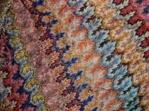 Silk 1920s shawl.