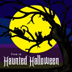 This is Haunted Halloween Collection CD art...
