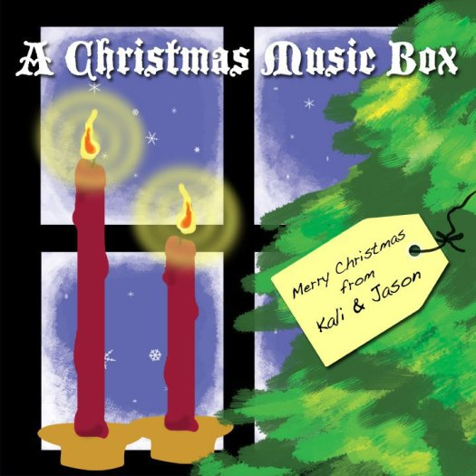 "A Christmas Music Box ""cover"" art"