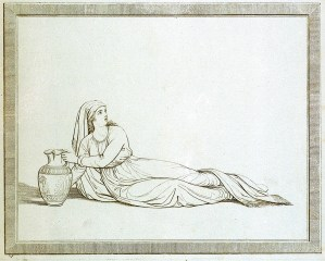 """Rebecca al Stagno"" - Rebecca at the well"