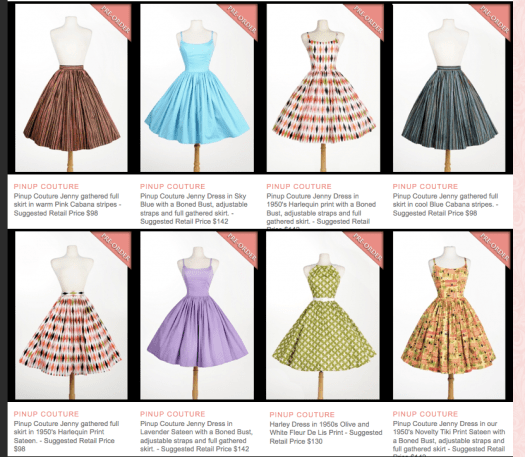 Pinup Couture Spring Preview