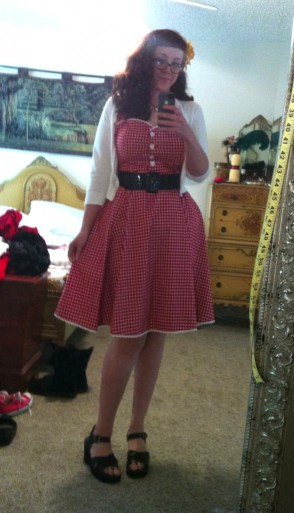 Collectif Gretel dress