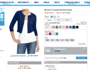 Old Navy Cropped Rib-Knit Cardis