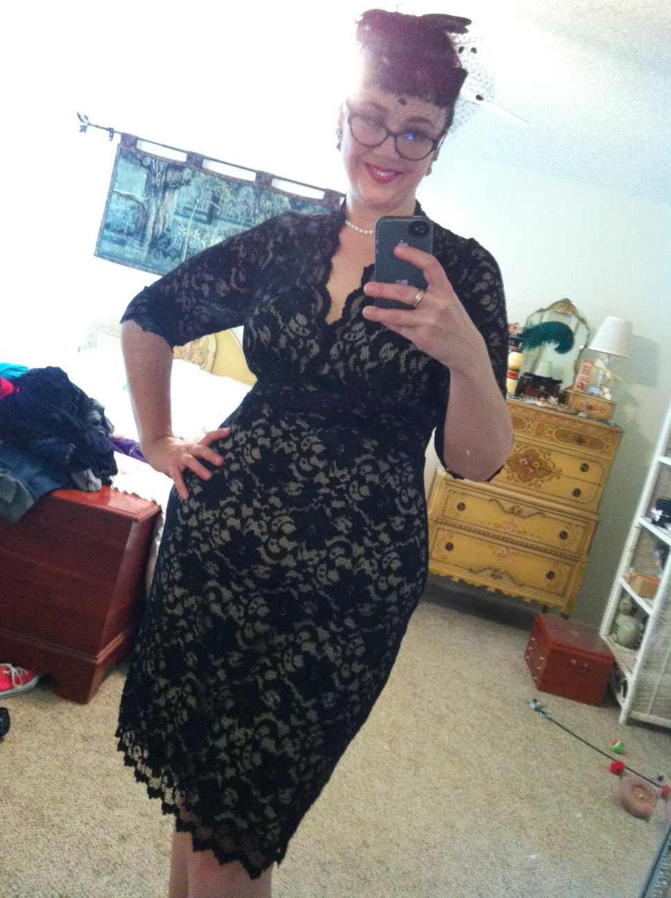 Review: Kiyonna\'s fabulous 1940s lace dresses...in plus ...