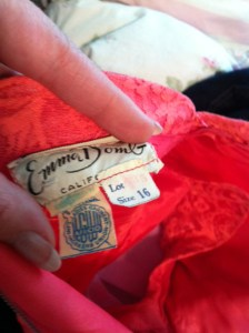 Emma Domb Dress Label