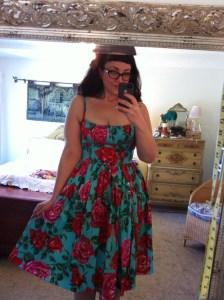 Bernie Dexter Paris dress - turquoise floral