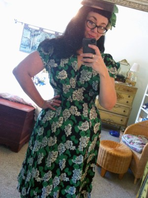 Trashy Diva Ashley Dress in Crepe Myrtle