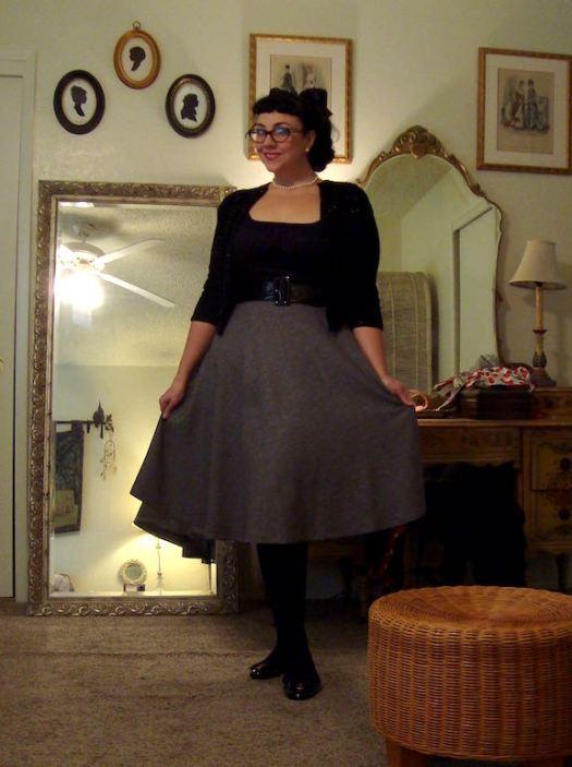 Betty Le Bonbon midi skirt