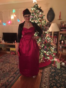 Frank Starr vintage gown