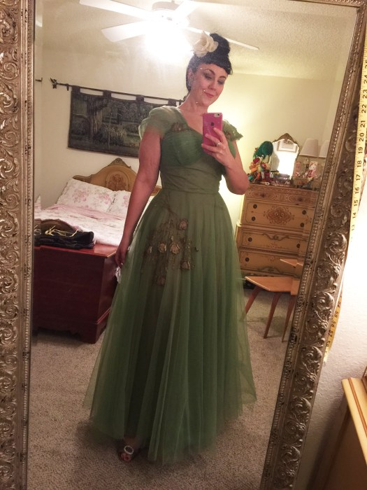 Green Emma Domb Dress
