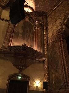 Fox Theater organ scrim