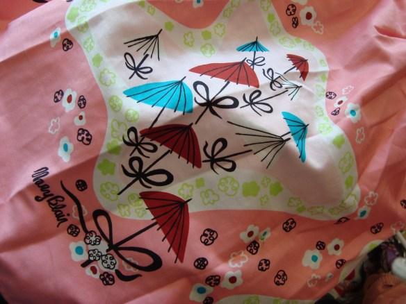 Mary Blair parasol print