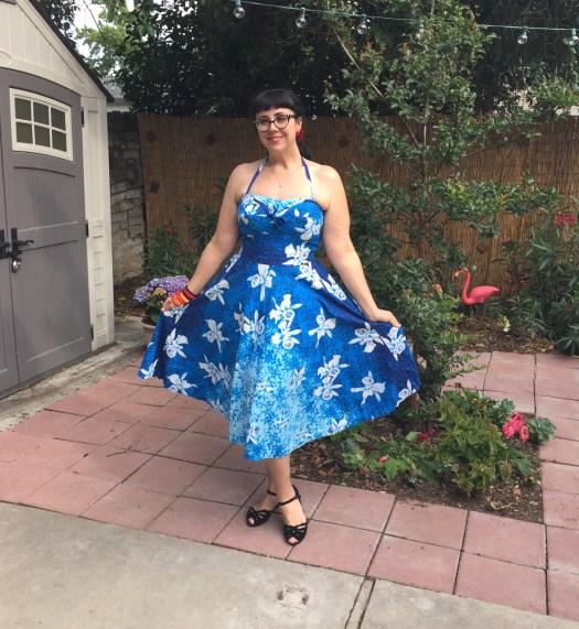 Kamehameha Vintage Dress