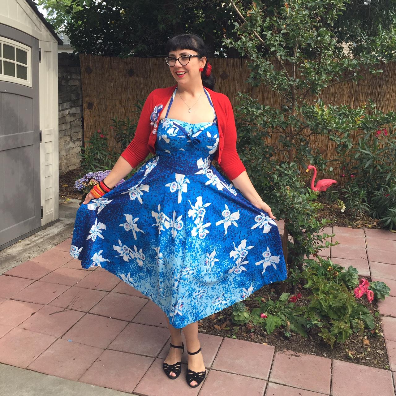 3d170761ba5 Kamehameha Vintage Dress Kamehameha Vintage Dress