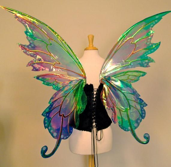 Making Fairy Wings - Beachcombing's Bizarre History Blog