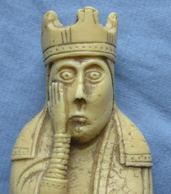 Queen from Lewis Chessmen