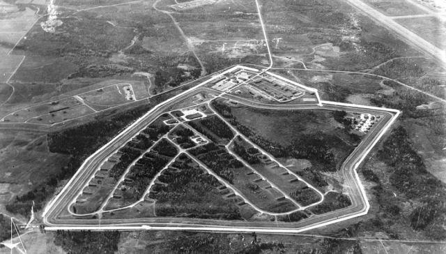 The Caribou Air Base
