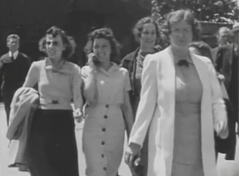Time Traveler Outside Factory in 1938?