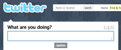 Twitter: What are you doing?