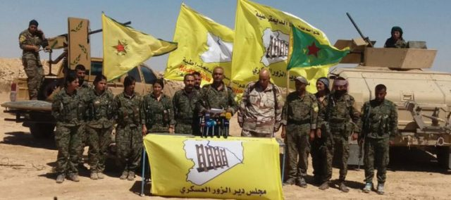 forze democratiche siriane