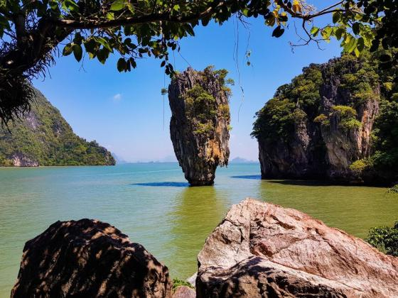 TAJSKA OTOKI - James Bond otok (Phang Nga)