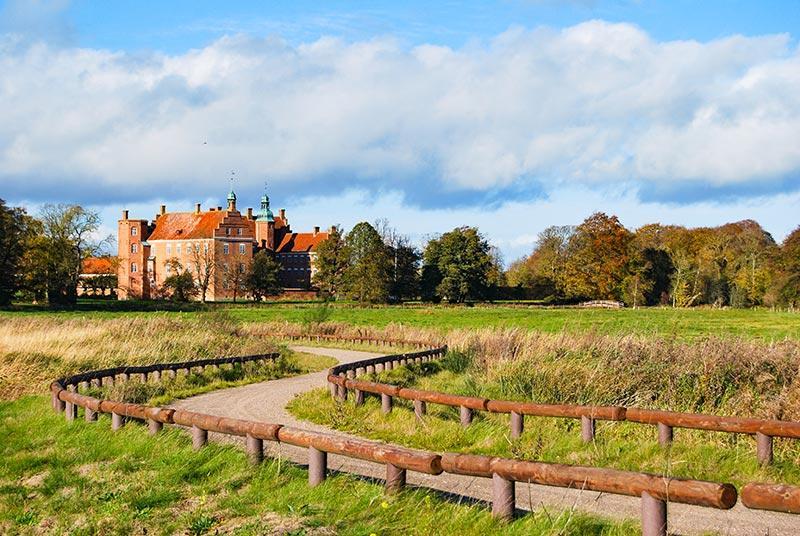 Danska in Mols Bjerge ter mesti Aalborg in Skagen