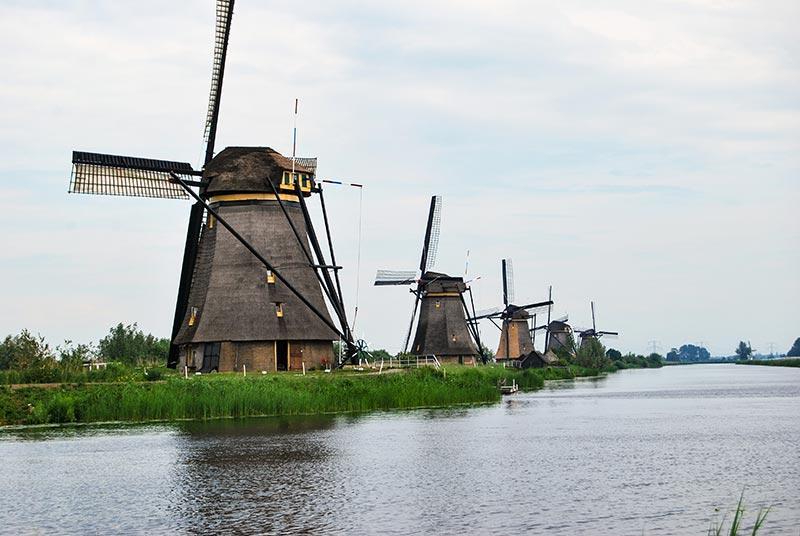 Nizozemska znamenitosti v petih dneh z avtom