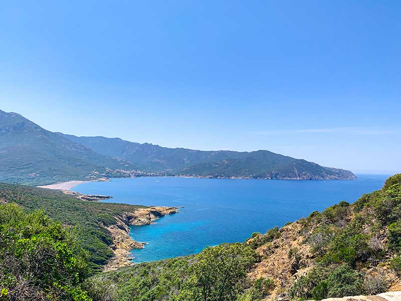 Korzika plaže