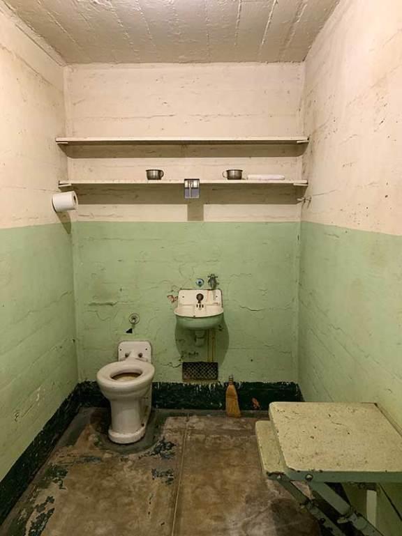 Takšna je celica v Alcatraz zaporu