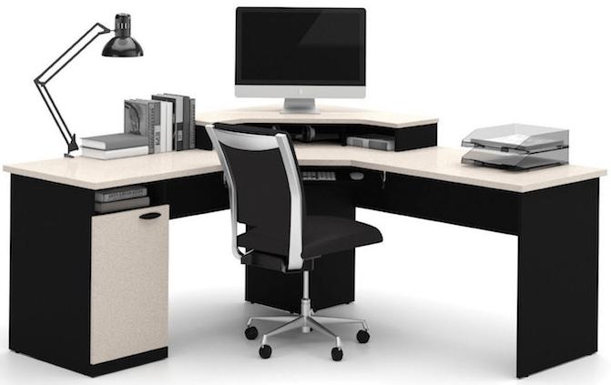 L-Shaped Gaming Computer Desk