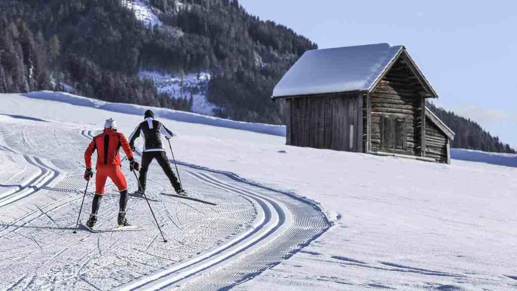 Obertilliach Winter Osttirol Strasserwirt Langlauf