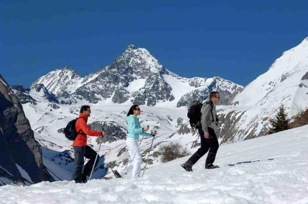 Schneeschuhwander Osttirol Winter Strasserwirt