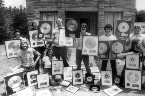 Muscle Shoals Gold records