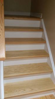 Basement stairs Vaughan