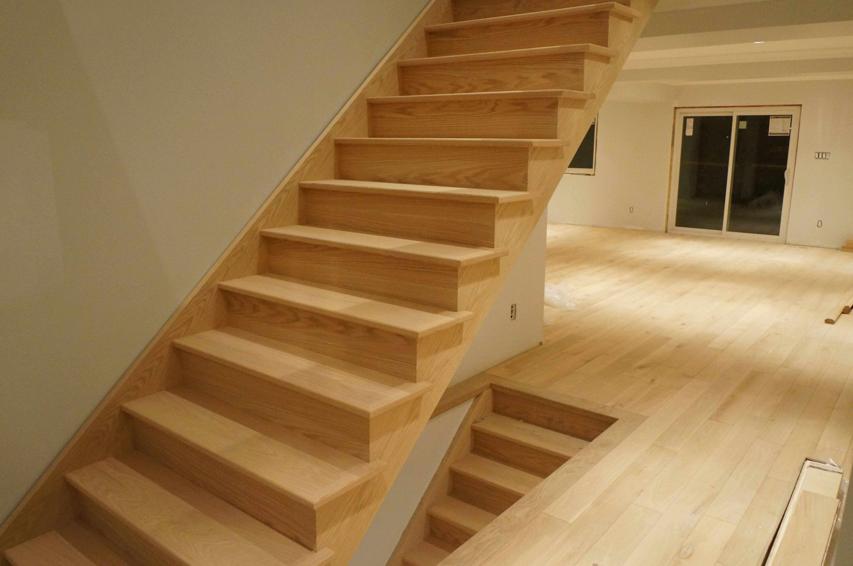 Hardwood Stair Refinishing Strataline Inc