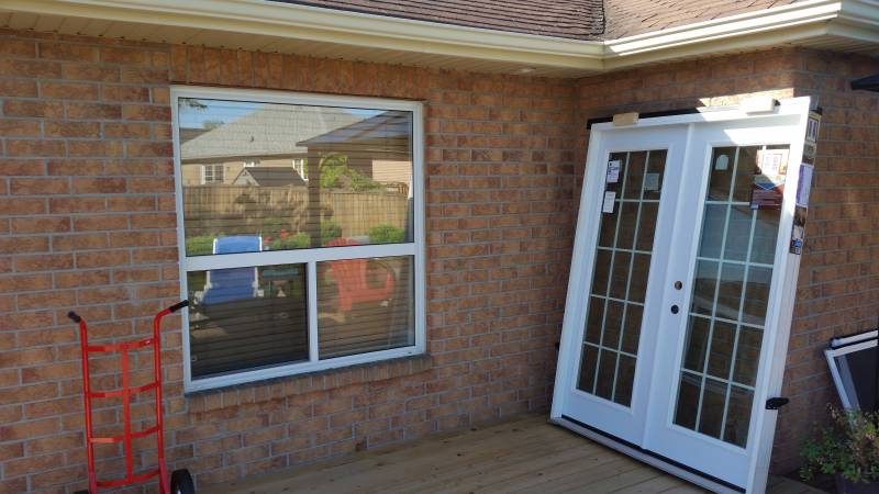 Custom brick door window cut out, cutout, masonry services, bricklayer, toronto, vaughan, richmond hill, north york, king city, aurora - 0004