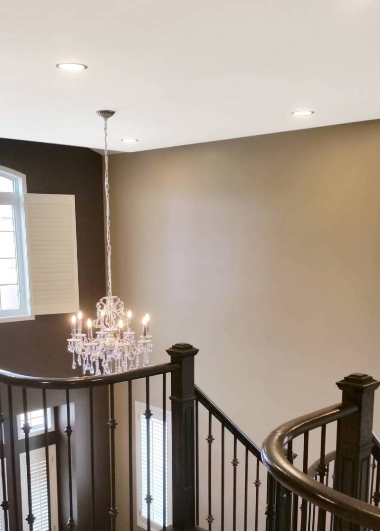 Flat ceiling, Smooth Ceiling, remove popcorn texture, Smooth-Ceilings-Toronto-Removing-Popcorn-Textured-Ceilings, Toronto, Vaughan, GTA, Richmond Hill, Aurora, Newmarket