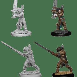 Pathfinder Battles Deep Cuts: Female Human Barbarian