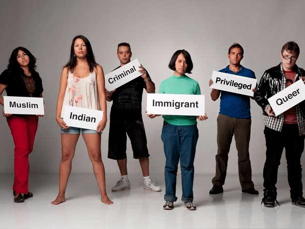 prejudice, discrimination, and stereotyping