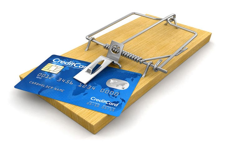 22396898 - mousetrap with credit cards