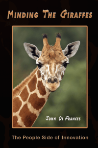 Minding the Giraffes Front Cover