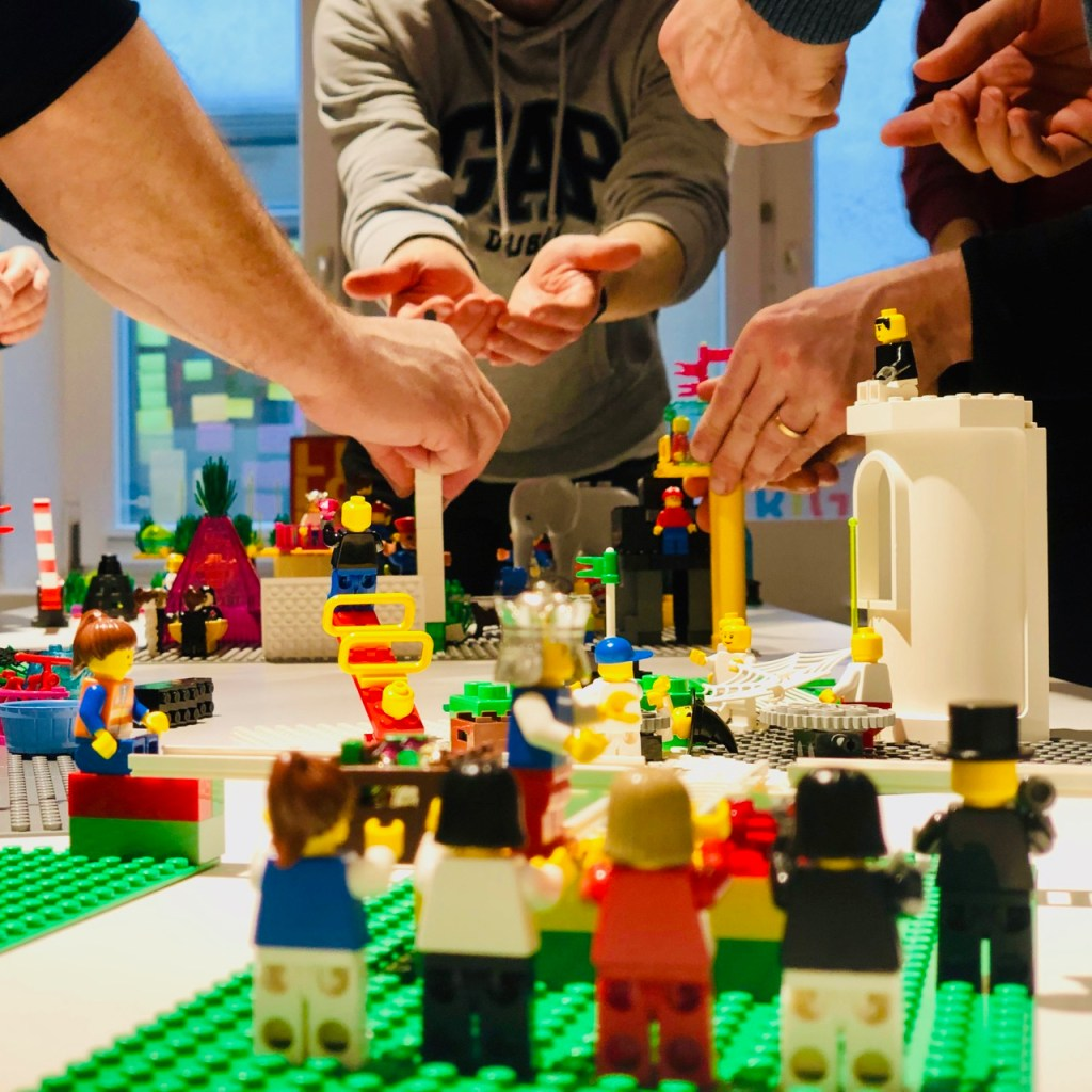LEGO® Serious Play® hands on