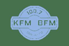 KFMB-FM log mute