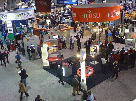 18 ways to make the most of your large investment in trade shows.