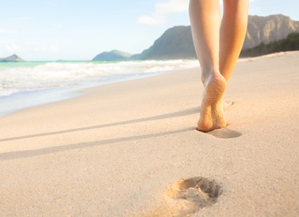 Leadership Inspiration Footprints In The Sand Strategydriven