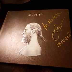 Joep Beving album signed to Madeline Stratford