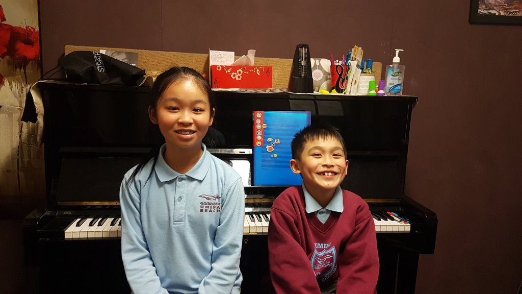 Piano Lessons at Stratford Music on the Open Day. Central Coast all ages.