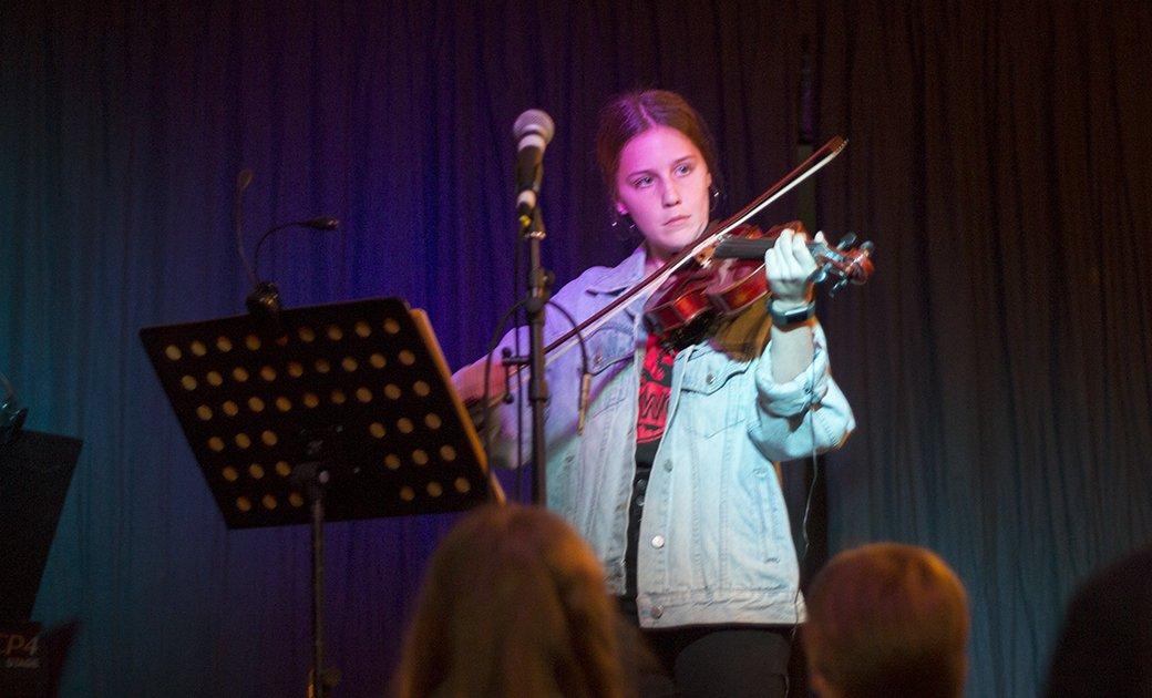 Violin concert stratford music open day august 2018