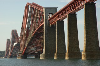 Forth Rail Bridge from Hawes Pier (small)
